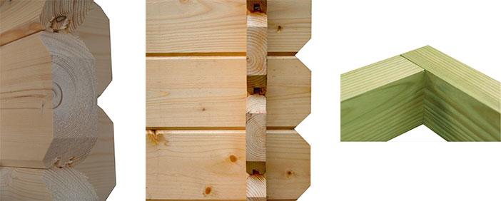 quel bois choisir pour votre abri de jardin abri chalet. Black Bedroom Furniture Sets. Home Design Ideas