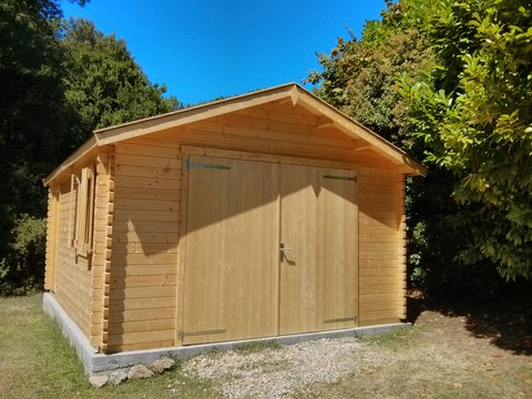 Garage en bois Newport