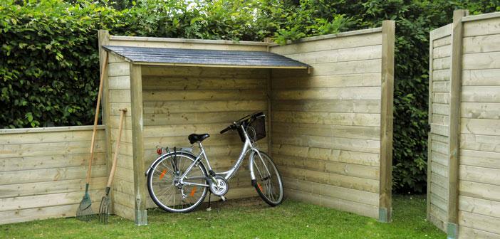 Coffre de rangement à vélo