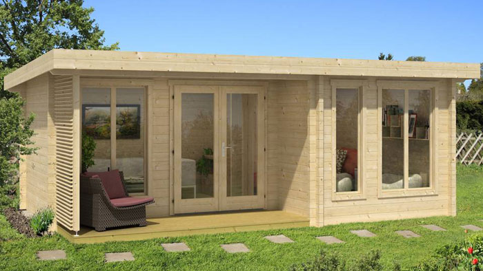 Chalet habitable archives abri chalet - Veranda surface habitable ou pas ...