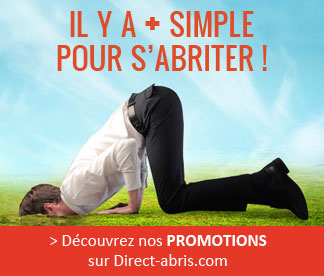 Les promotions Direct-abris