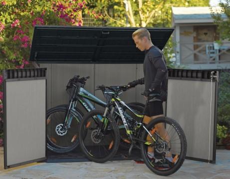 Coffre de jardin abri vélo