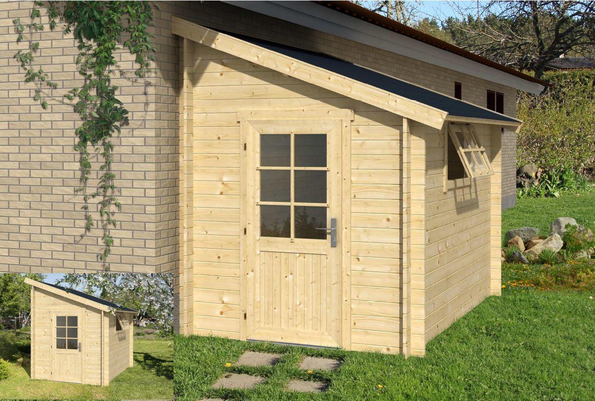 Choisir un abri de jardin sur internet abri jardin - Abri de jardin 1 pente ...