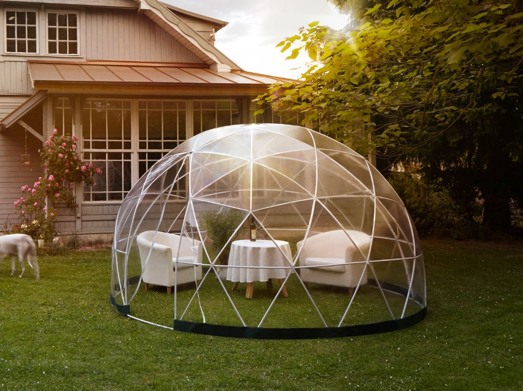 Abri de jardin igloo l 39 am nagement tendance abri chalet for Igloo de jardin