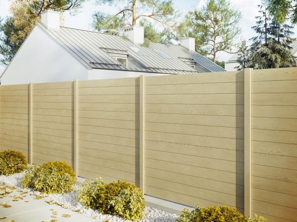 Palissade bois alu le brise vue esth tique et durable for Terrasses en vue immobilier